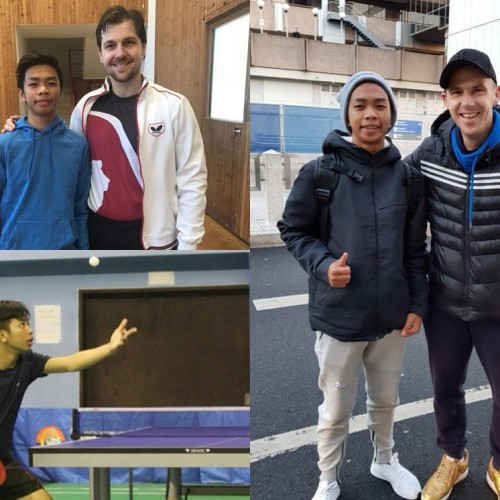 Atlet Tenis Meja Paser Jajal Latihan di Luar Negeri