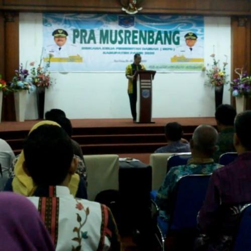 Bappeda Paser Susun Pra Musrenbang 2020