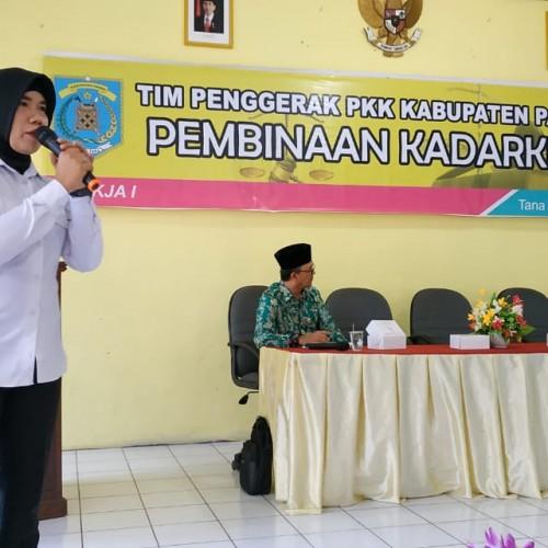 Perempuan dan Pendidik di Paser diberikan Pembinaan Sadar Hukum