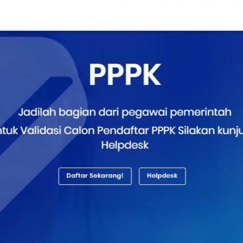 Pendaftaran Online PPPK Dibuka