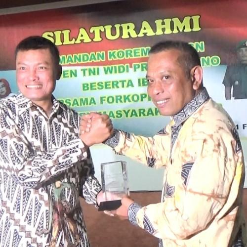 Kunjungan Danrem 0901 ASN, Paser Harap Sinergitas Pemda-TNI