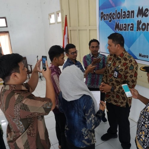 Muara Komam Gelar Pelatihan Media Center