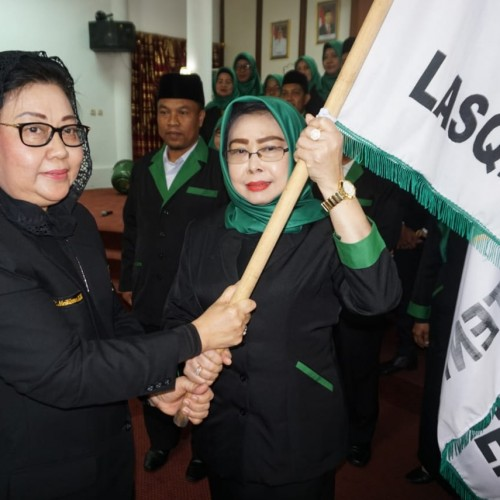 Mutiarni Yusriansyah Syarkawi resmi dilantik menjadi ketua LASQI Paser