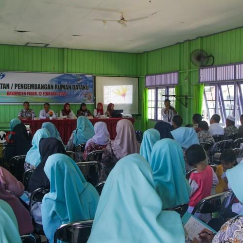 DP2KBP3A Paser Gelar Bimtek Rumah Data Kampung KB