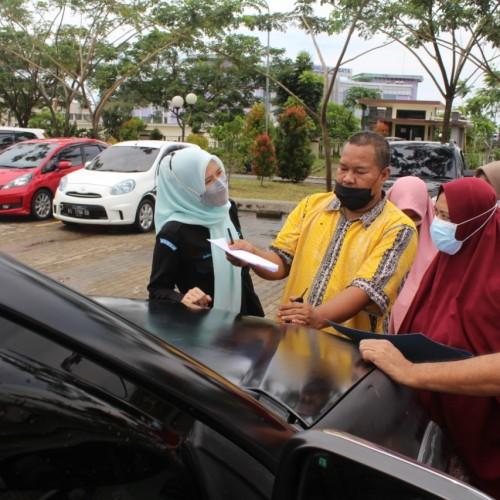 Habis Waktu Penggunaan, BKAD Paser Tarik Kendaraan Dinas Pejabat