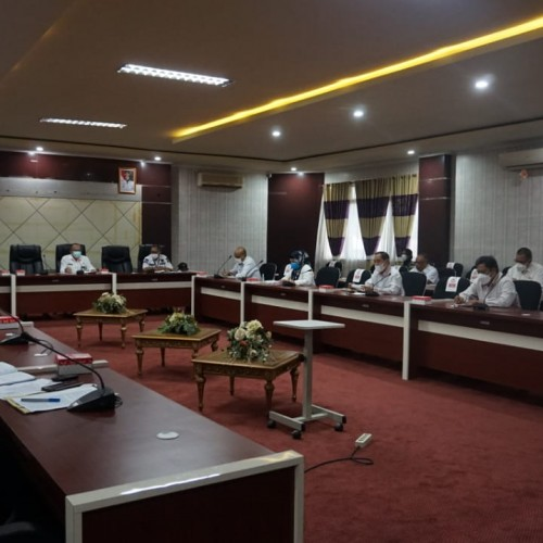 Satgas COVID-19 Paser Gelar Rapat Evaluasi PPKM Mikro