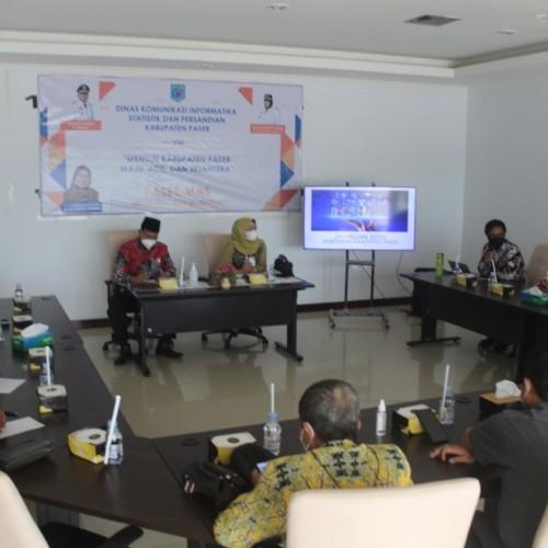 Kepala DKISP Paser Terima Kunjungan Komisi III DPRD Tabalong